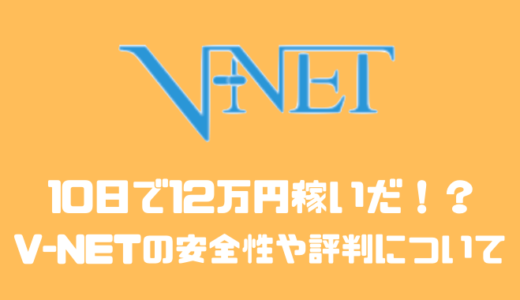 V-NETで治験をして年間20万円以上稼げた!?安全性や評判について
